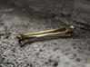 Bone Tie Clip 3d printed The tie clip on the picture is polished
