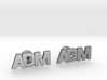 Monogram Cufflinks ADM 3d printed