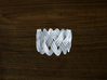 Turk's Head Knot Ring 3 Part X 13 Bight - Size 6.2 3d printed
