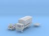 Vierer-Club-LKW Pritsche mit Plane (N 1:160) 3d printed