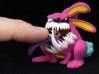 Monster Bunny #5 - Freak / Shorty 3d printed Test print at size listed