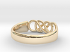 Double Infinity Ring 15.3mm Size4-0.5 3d printed