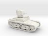 Carden Loyd Light Tank Mk.VIII (1:100 scale) 3d printed