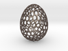 Honeycomb - Decorative Egg - 2.3 inch 3d printed steel egg