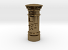 35mm/O Gauge - Post Box Polished Brass 3d printed