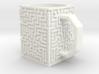 Maze Mug 3d printed