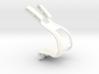 Double Toe Strap Toe Clip 3d printed