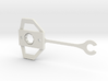 Lotus Elan M100 butterfly clip (for door glass) 3d printed