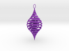 CounterSpiral Ornament 3d printed