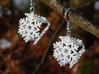 Snowflake Earrings 3 3d printed
