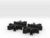 Game Piece, Dark Spiders, 4-set 3d printed