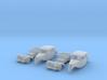 SET 2x Citroën 11BL (N 1:160) 3d printed
