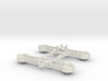 Zeb'210 quadcopter - Body (Spacer) 3d printed