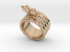 Love Forever Ring 28 - Italian Size 28 3d printed