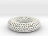 Coral skeleton egg cup 3d printed