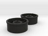 Atomic AMZ/AMR Front Wheel with +3 Offset 3d printed