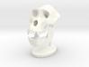 Gorilla Skull with base 3d printed gorilla skull