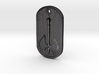 Battle Axe Dog Tag 3d printed