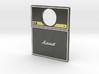 Pinball Plunger Plate - Quad Speaker / Amp 3d printed