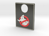 Pinball Plunger Plate - Ghost Bustin 1 3d printed
