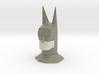 Batman head bust sculpture 3d printed
