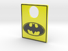 Pinball Plunger Plate - Classic Batman 3d printed
