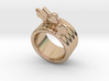 Love Forever Ring 33 - Italian Size 33 3d printed