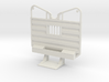 1/25 detailed waffle type cab guard headache rack 3d printed