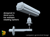 Surveillance Camera (1/87) 3d printed surveillance camera type 1 - 1/87th scale - parts