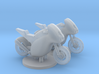 Superbike HO Scale (1:87) Set of 2 3d printed