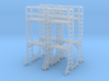 Scaffold 02. HO Scale (1:87) 3d printed