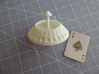 d52 Random Card Generator (Playing Card Axle Die) 3d printed spindle aligns with result to ease readibility