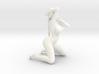 2016006-Ponytail girl in 15cm 3d printed