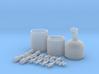 1/8 Nitrous Oxide Kit 3d printed