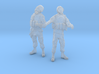 1-32 Military Zombie Set 3 3d printed