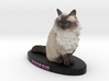 Custom Cat Figurine - Foofsie 3d printed