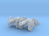 Cannon (Light) Qty - (2) N 160:1 Scale 3d printed