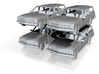 70s hx holden  stationwagon 1:120 3d printed