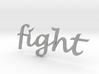 """fight"" Wall Art 3d printed"