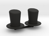 Top Hat Boardgame Counters (x2) 3d printed