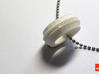 Bearing-ring (pendant) 3d printed In White Strong & Flexible