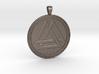 Valknut pendant 3d printed Valknut pendant - Steel