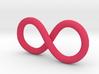 The Concatenator logo - Infinity symbol 3d printed
