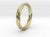Eternal Regards Ring T  US 8 (18mm) 3d printed