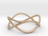 Size 8 Infinity Ring 3d printed