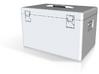 1/10 Scale Large Metal Box 3d printed