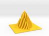 Miniature Pyramid Sculpture 3d printed