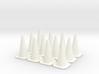 Traffic Cones 01. 1:24 scale 3d printed