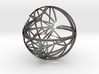 Craters of Europa Desk Sculpture 3d printed