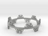 Snow Flake Bracelet 3d printed